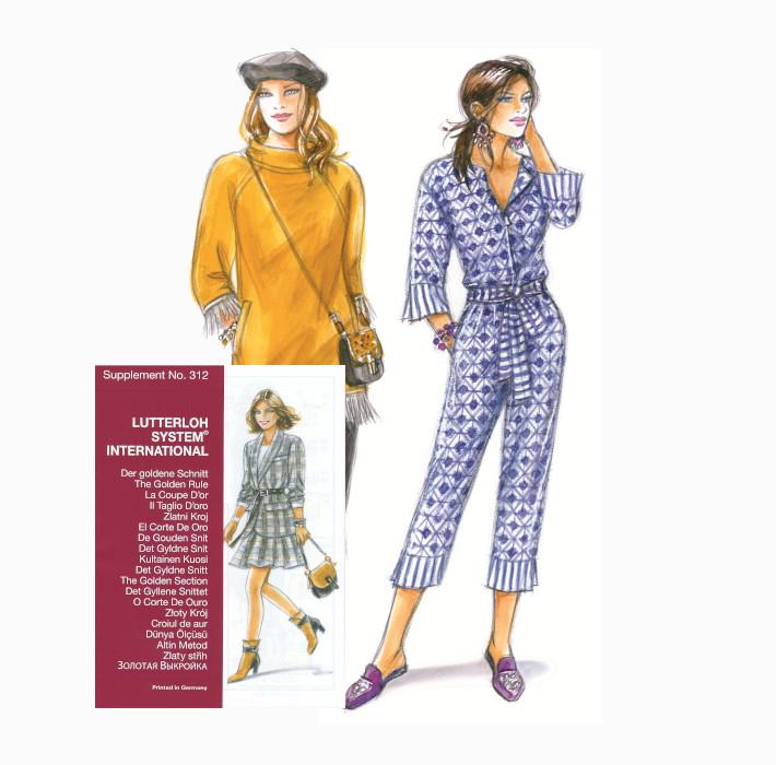 Sewing patterns - Magazine N°312