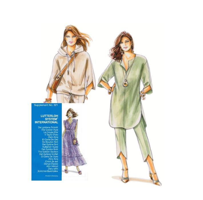 Sewing patterns - Magazine N°321