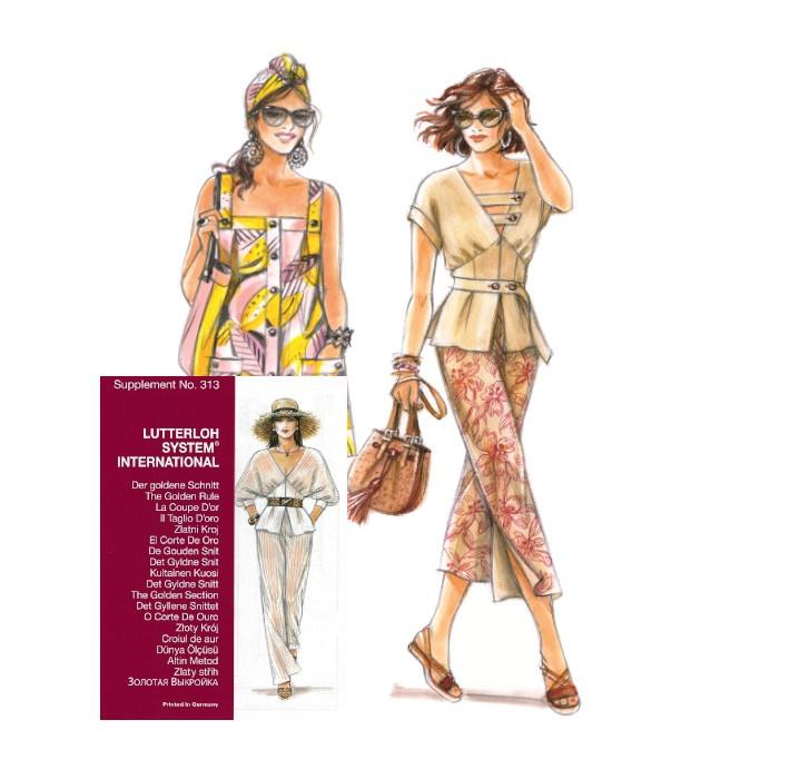 Sewing patterns - Magazine N°313