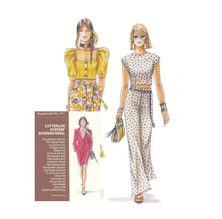 Sewing patterns - Magazine N°317