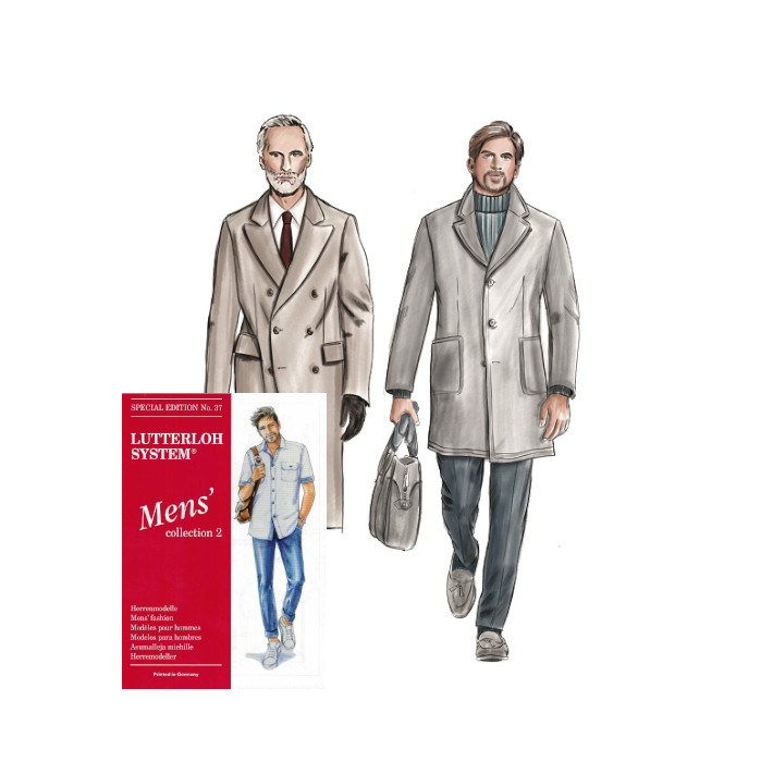 Sewing pattern - Men collection N°37