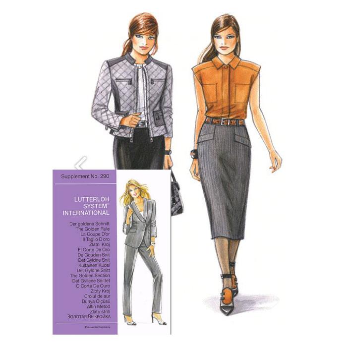 Sewing patterns - Magazine N°290